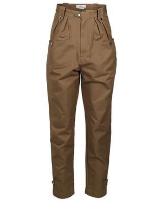 Pantalon carotte en coton Pulcie ISABEL MARANT