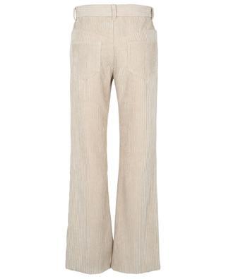 Pantalon taille haute large en velours côtelé Delvira ISABEL MARANT
