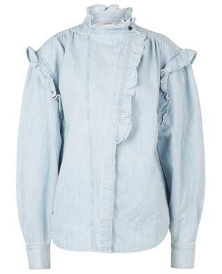 Gossia ruffled denim shirt ISABEL MARANT