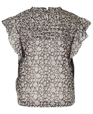 Layona short sleeved top in thin cotton ISABEL MARANT