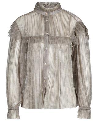 Chemise plissée à volants Elmirae ISABEL MARANT