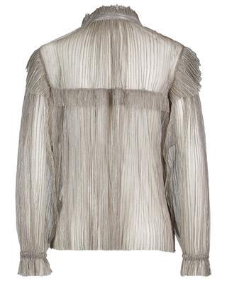 Elmirae pleated shirt with ruffles ISABEL MARANT