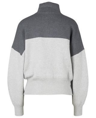 Linn cotton and wool blend high neck jumper ISABEL MARANT