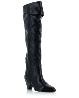 Remko western spirit heeled leather boots ISABEL MARANT
