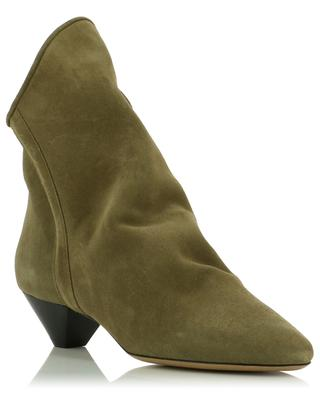 Doey heeled supple suede ankle boots ISABEL MARANT