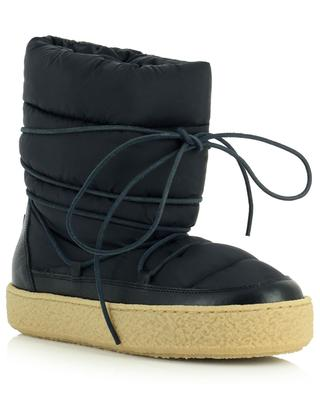 Zimlee quilted nylon snow booties ISABEL MARANT