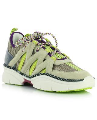Kinbee nylon and suede trek spirit sneakers ISABEL MARANT