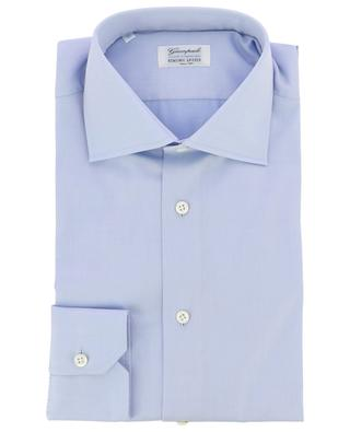 Monochrome cotton shirt GIAMPAOLO