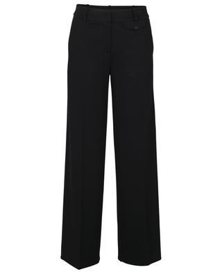 Pantalon large en jersey de laine WINDSOR