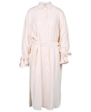 Trench coat spirit viscose shirt dress KENZO