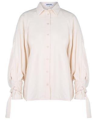 Relaxed trench coat spirit shirt KENZO