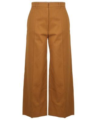 Verkürzte Hose aus Baumwolle und Leinen KENZO