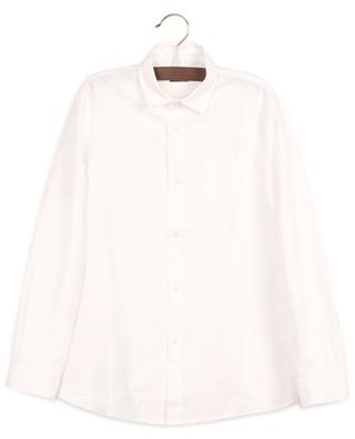 Long-sleeved Oxford cotton shirt IL GUFO