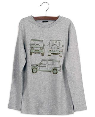 Jeeps printed long-sleeve T-shirt IL GUFO