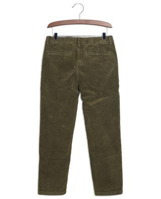 Pantalon en velours côtelé aspect vintage IL GUFO