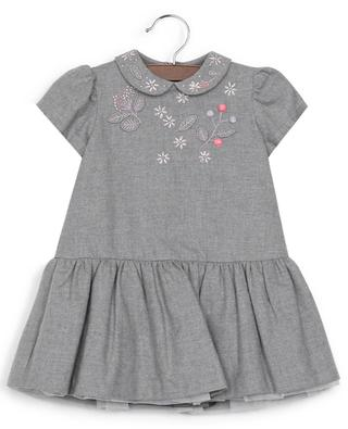Cotton short-sleeved dress IL GUFO