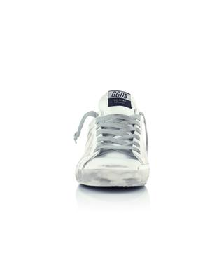 Superstar leather and canvas sneakers GOLDEN GOOSE