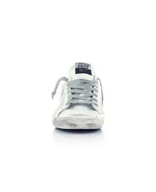 Sneakers aus Segeltuch und Leder Superstar GOLDEN GOOSE