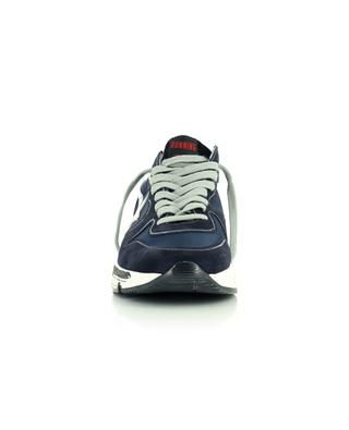 Running Sole nylon and suede sneakers with light reflecting detail GOLDEN GOOSE