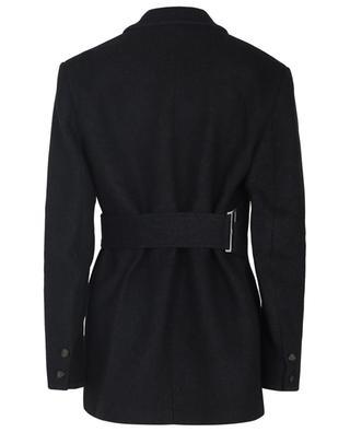 Manteau court en laine mélangée GANNI