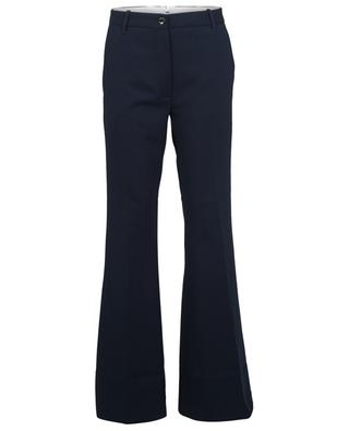 New Paola flared wool trousers NINE IN THE MORNING