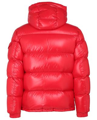 Ecrins hooded down jackete in lacquered nylon MONCLER