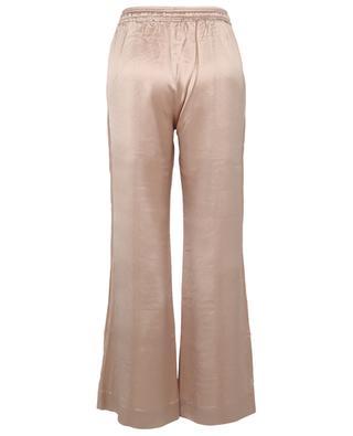 Hose mit weitem Bein aus Satin mit Seitenstreifen Dalia HEMISPHERE