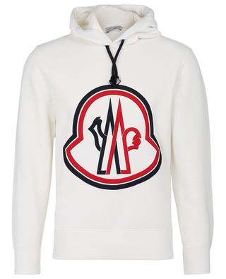 XXL logo embroidered hooded sweatshirt MONCLER