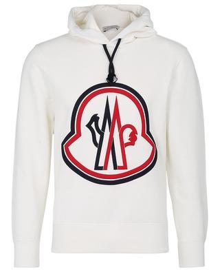 Kapuzensweatshirt mit XXL-Logo-Stickerei MONCLER