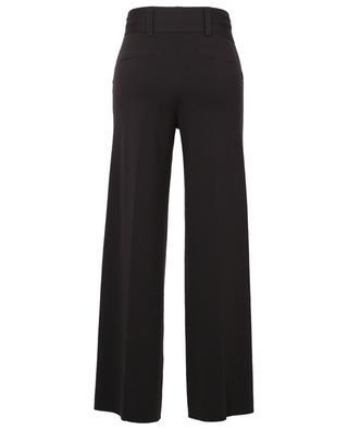 Belted fine knit wide-leg trousers HEMISPHERE