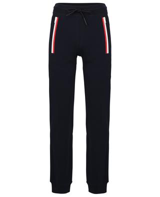 Track trousers with blue-white-ret detail MONCLER
