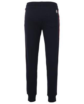 Track trousers with light reflecting side bands MONCLER