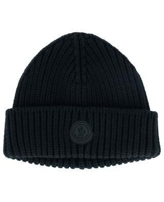 Virgin wool knit beanie MONCLER