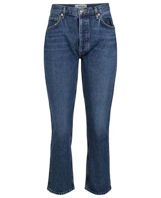 Gerade Jeans mit hoher Taille Riley AGOLDE