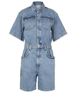 Zoe Waisted Rio denim shorts jumpsuit AGOLDE