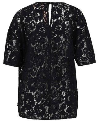 Weites T-Shirt aus Spitze mit Kristallen N°21