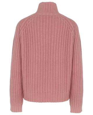 Chunky rib knit boxy jumper in cashmere and silk HEMISPHERE