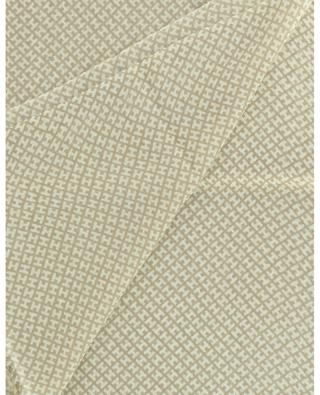 Bade fine monogrammed cashmere scarf HEMISPHERE