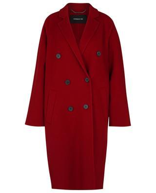 Manteau à double boutonnière en laine et cachemire BARBARA BUI