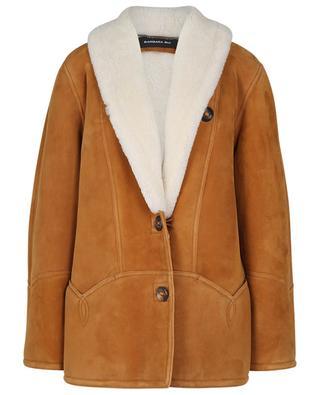 Manteau court en peau lainée BARBARA BUI