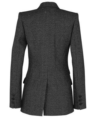Blazer en laine à carreaux prince-de-Galles BARBARA BUI