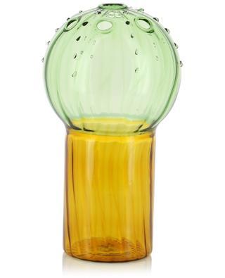 Vase en verre bicolore Cactus L KLEVERING
