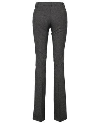 Pantalon en laine à carreaux prince-de-Galles BARBARA BUI