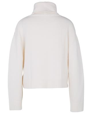 Boxy wool and cashmere turtleneck jumper BARBARA BUI