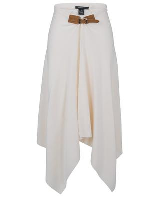 Zipfel-Strickrock aus Wolle und Kaschmir BARBARA BUI