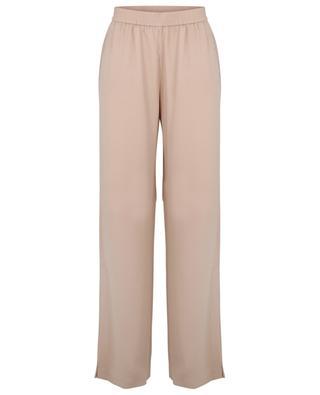 Pantalon large en crêpe à fentes latérales FABIANA FILIPPI