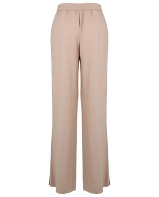 Wide-leg trousers in crepe with side slits FABIANA FILIPPI