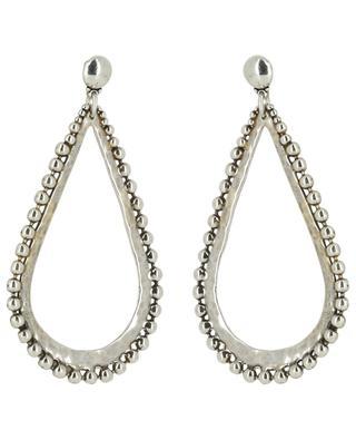 Bibou silver plated earrings GAS BIJOUX