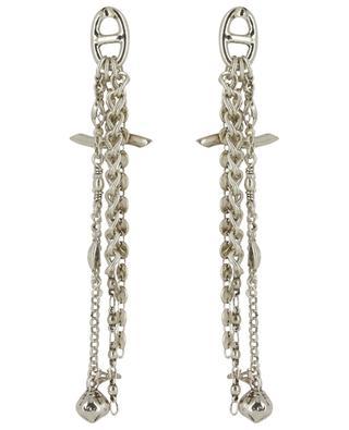 Enchaînée silver plated earrings GAS BIJOUX