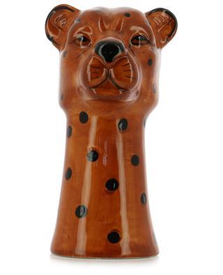 Vase en céramique guépard KERSTEN
